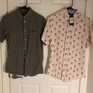 SOLD‼️Pack of 2 Short sleeve shirts.